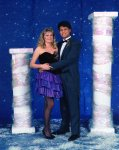 """Senior Tolo, """"Arms of Orion,"""" with Tami."""