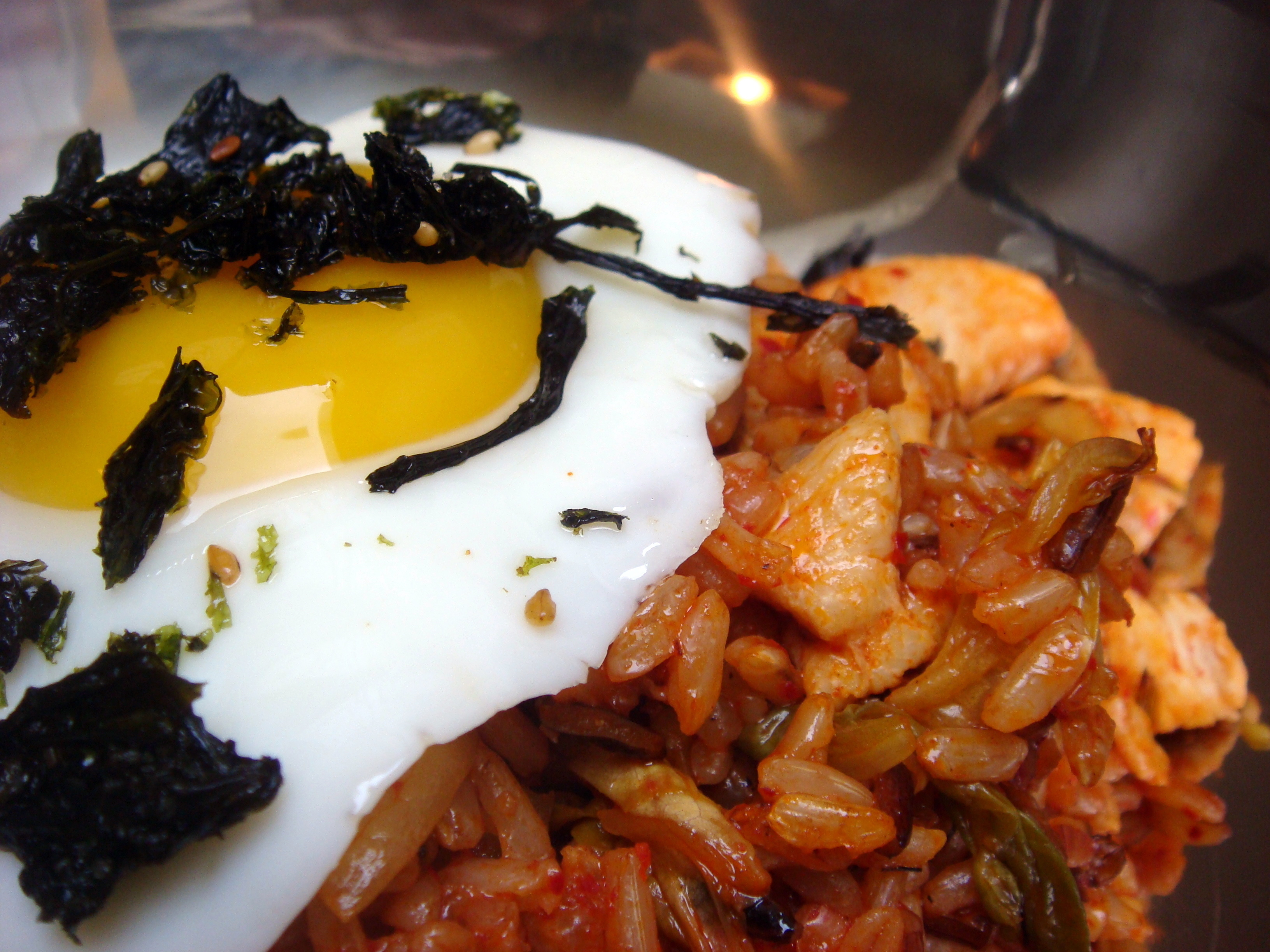 how to make kimchi fried ride