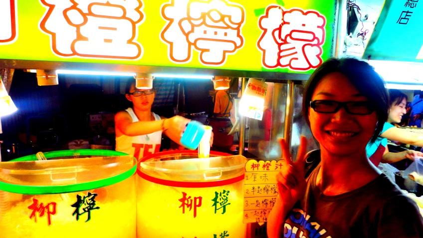 Taipei A, getting some juice