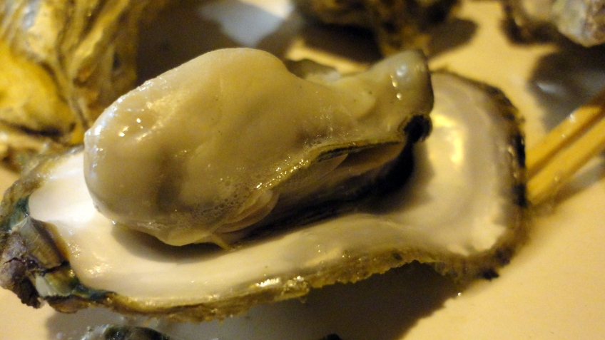 i asked the lady if taiwanese people ate oysters raw, she said that some people do