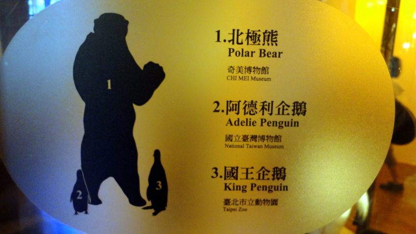 more vocab I need:  北极熊 polar bear, 企鹅 penguin
