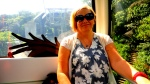 馬麗安 on the 貓空纜車 Maokong Gondola