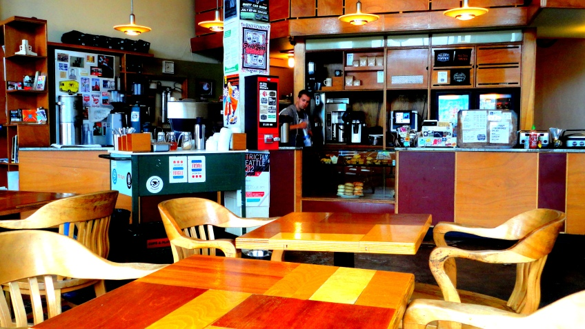 all city coffee... i love this place