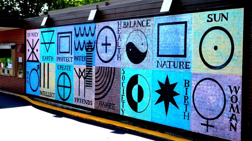 mural on rainier ave
