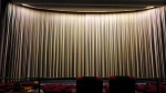 cinerama, curtains closed