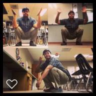 Classroom squats