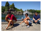trio squat disney