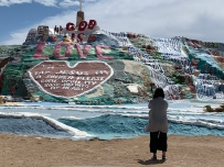 Korean family portrait, Salvation Mountain
