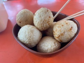 fried fish balls