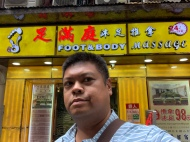 A foot massage place I was recommended