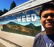 Mural in Weed, CA